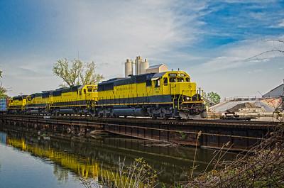 New York Susquehanna and Western Railroad - Hackensack River Bridge