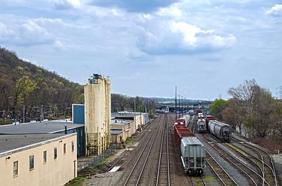 Suffern Railroad Yard - Hillburn, New York