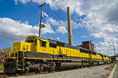 New York Susquehanna and Western Railroad - Bogota