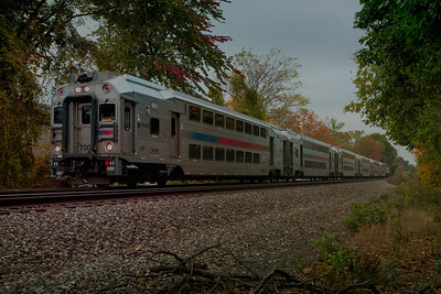NJ Transit Train - Saddle Brook, New Jersey