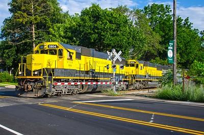 New York Susquehanna and Western Railroad - Bogota Road Crossing