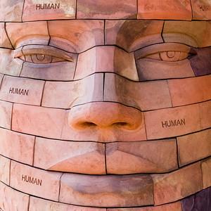 Brick Head sculpture