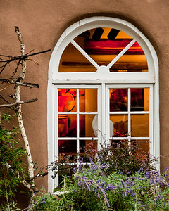 Santa Fe Gallery Window