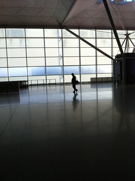 The lonely traveller