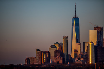 NYC, Financial district, One World Trade Center