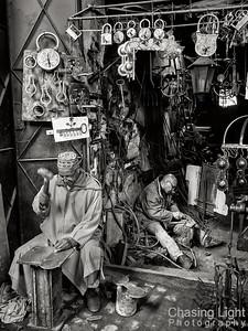 Metalworking in Marrakech