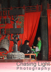 Performers on a Break Summer Palace Beijing, China