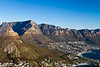 Nice view of Table Mountain and the Twelve Apostles.