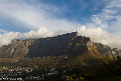 Table Mountain viewed from Signal Hill