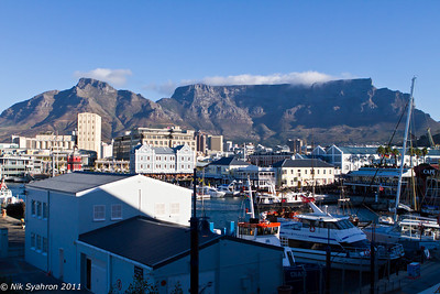 Table Mountain from Victoria Wharf
