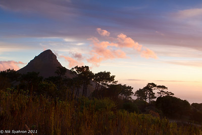 Lion's Head at dusk