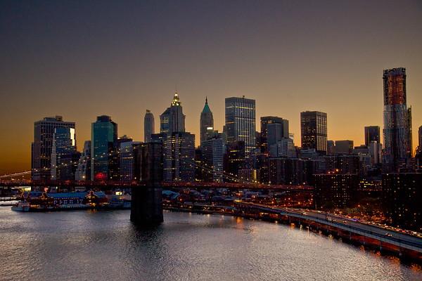 Brooklyn Bridge from Manhattan Bridge