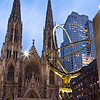 "Atlas and St. Patrick's Cathedral<br /> <br /> Photographing New York City. <a href=""http://amzn.to/dfgnyc"">http://amzn.to/dfgnyc</a>"