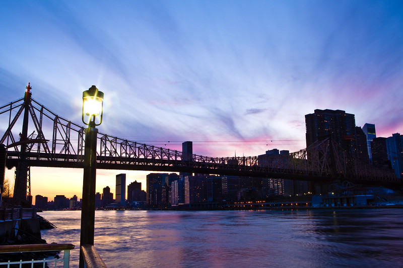 Queensboro Bridge and the East River