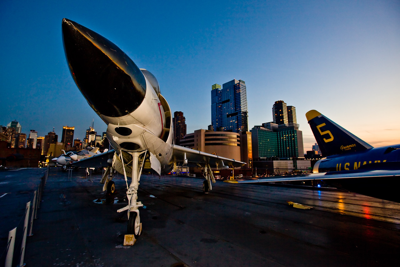 On the USS Intrepid