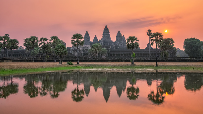Sunrise in the City of Temples
