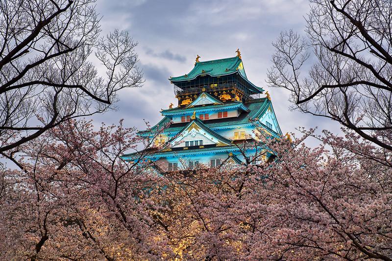 """""""The Floating Fortress"""" – Osaka, Japan"""