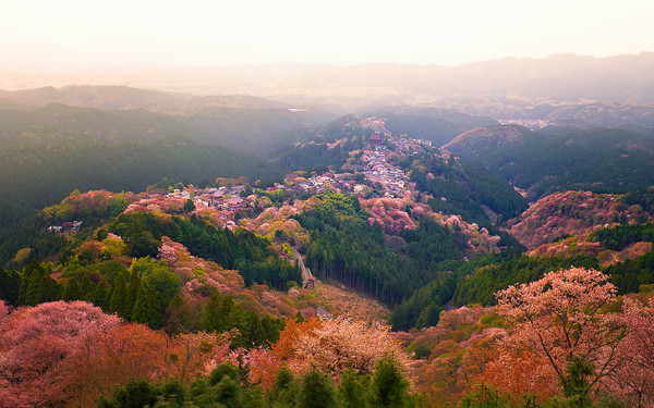 Mount Yoshino, Japan