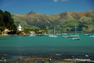 Akaroa © 2007 Colleen M. Griffith. Griffith. All Rights Reserved.  This material may not be published, broadcast, modified, or redistributed in any way without written agreement with the creator.  This image is registered with the US Copyright Office. www.colleenmgriffith.com www.facebook.com/colleen.griffith