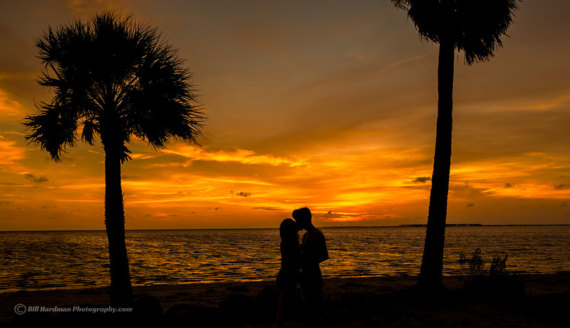 Sunset Beach, Fla - Couple in love