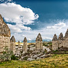 """Fairy chimneys"" of Cappadocia, Turkey"