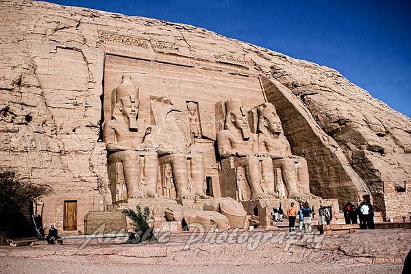 Abu Simbel Telmple
