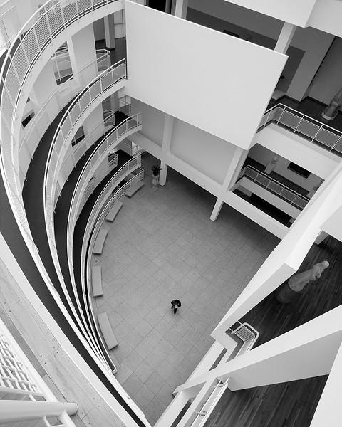 High Museum Atlanta black and white