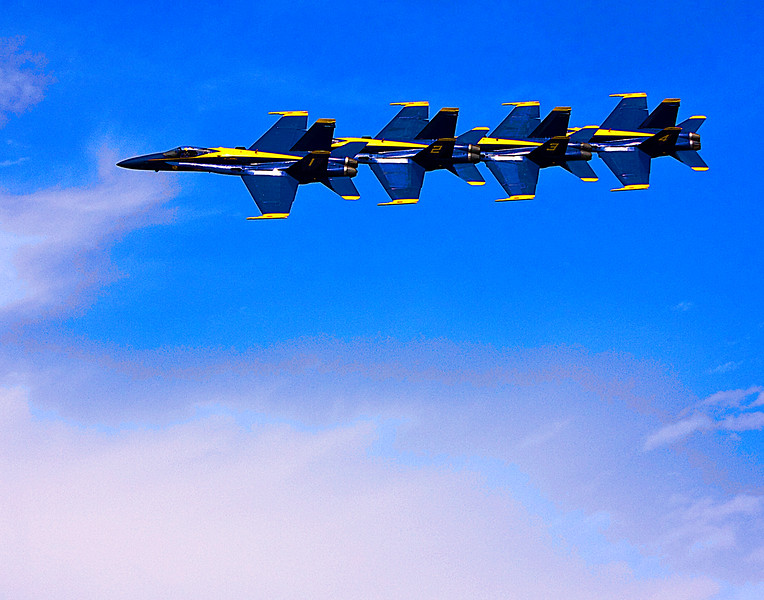 Blue Angels in Trail