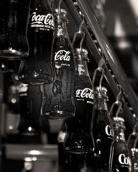 Ice cold Coca-Cola Photography