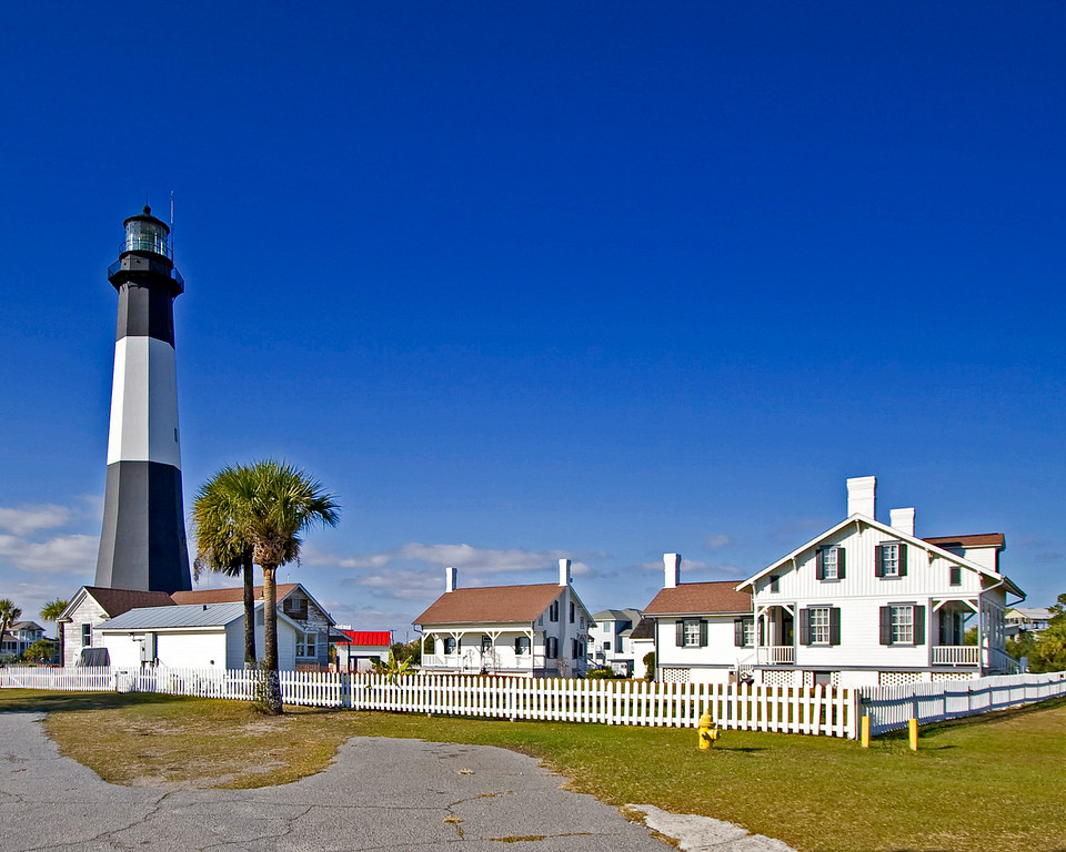 Tybee Island Lighthouse has provided safe entrance into the Savannah River since 1732
