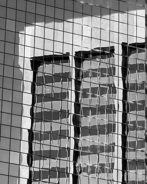 Denver Highrise Reflection II architectural photography