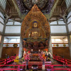 Buddha in Byodo-In Temple - Hawaii