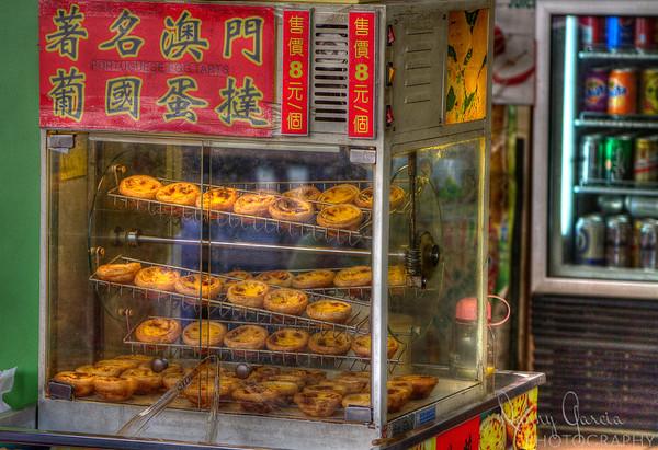 Portuguese Egg Tarts for sale in Macau
