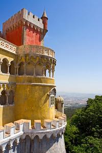 Palácido Nacional da Pena, Sintra, Portugal, Europe