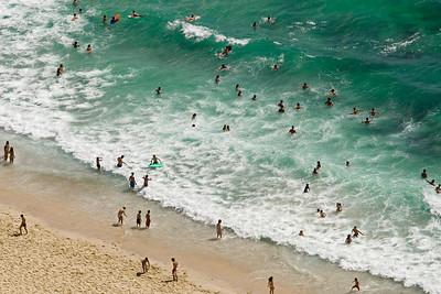 Beach Scene, Nazaré, Portugal