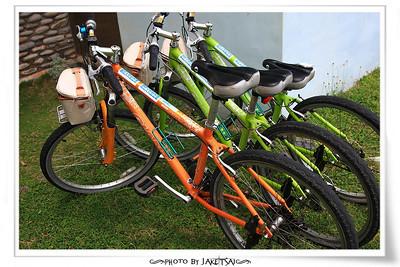 到蘭恩基金會租腳踏車