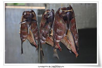 魚乾 三片式風乾