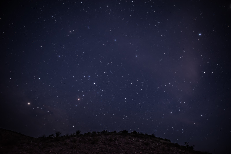 Big Bend National Park Night Sky Texas