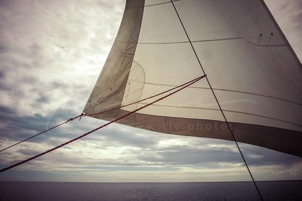 en catamaran de Deshaies à Bouillante   sailing trip along Basse-Terre
