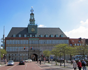 EMDEN (The Town Hall-Rathaus) (1)