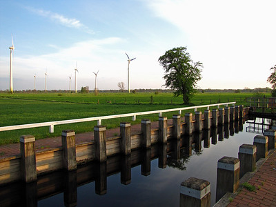WINDFARM and CANAL (2)