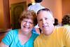 Lawton and  Jenny at bar de tapas.