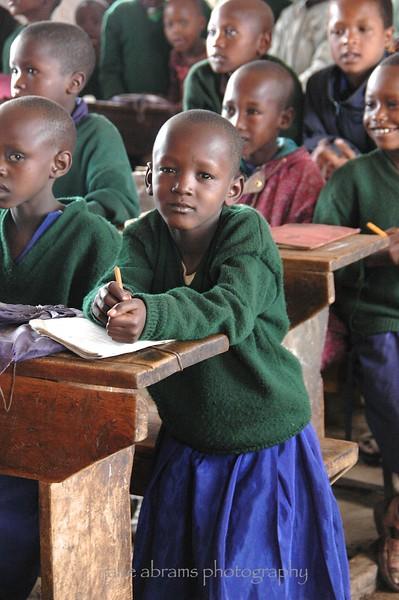 Masaai school girl