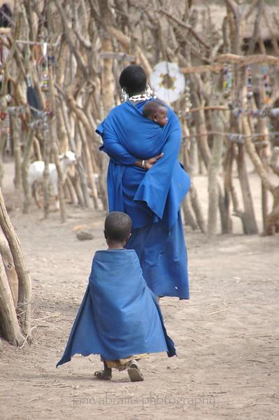 a family stroll