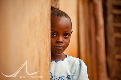 Young girl in southwestern Uganda.