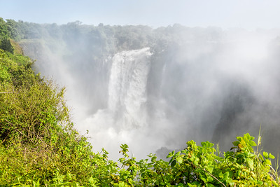 Devil's Cataract in Zimbabwe