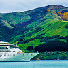 Radiance of the Seas, Royal Caribbean Cruise Ship, Akaroa, New Zealand