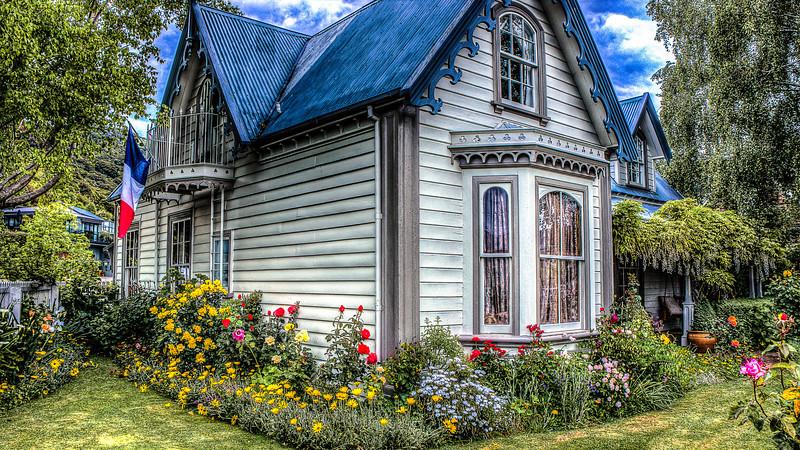 Beautiful House, Akaroa, New Zealand