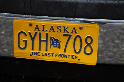 Alaska Tag on Van IMG_8714