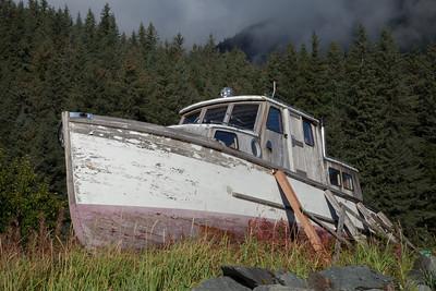 Boat at Lowell Point, Seward IMG_8965
